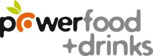 Logo Powerfood + Drinks