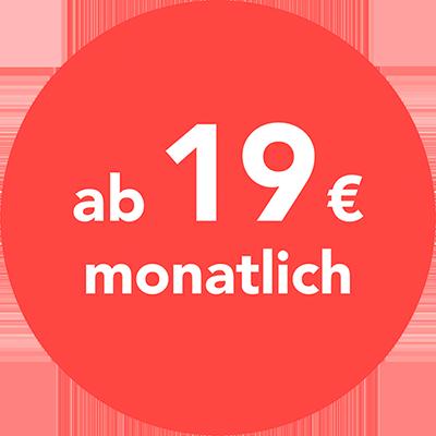 Ab 19 Euro